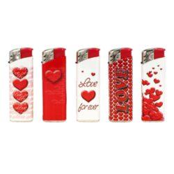 Zapalovač PROF Piezo Love(803012)