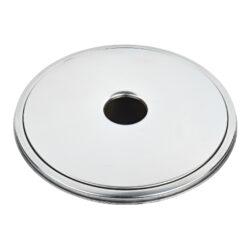 Venkovní popelník - odpadkový koš kulatý, nerez, 61cm(22606)