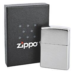 Zapalovač Zippo Chrome Arch, broušený(Z 163550)