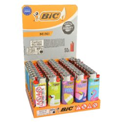 Zapalovač BIC J25 Summer-Plynový kamínkový zapalovač. Zapalovač nejde opět naplnit. Prodej pouze po celém balení (displej) 50 ks. Výška zapalovače 6cm.