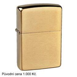 Zapalovač Zippo Solid Brass, broušený(Z 171520)