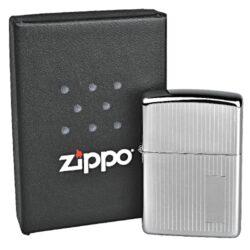 Zapalovač Zippo Turned Engine, leštěný(Z 150420)