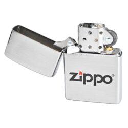 Zapaovač Zippo Logo LC, broušený(Z 215485)