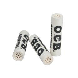 Cigaretové filtry OCB Activ Tips Slim 7mm, charcoal  (05600)