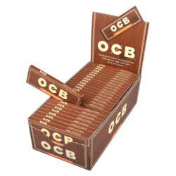 Cigaretové papírky OCB Virgin Single-Cigaretové papírky OCB Virgin Single. Ultratenký nebělený papír. Knížečka 50 papírků. Prodej pouze po celém balení (displej) 50 ks.