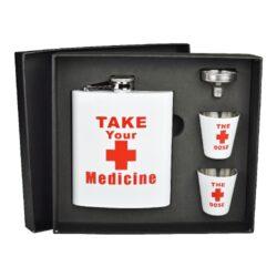 Placatka s pohárky sada Medicine, 178ml(491160)