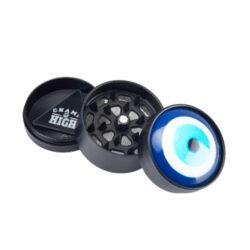 Drtič tabáku Champ H. Evil Eye kovový, 40mm(506122)