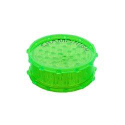 Drtič na tabák plastový Champ High 100mm, 4mix-Velký plastový drtič na tabák Champ High. Dvoudílná drtička se zásobníkem na tabák je vyrobená z tvrzeného plastu v transparentním barevném provedení s logem Champ. Víčko drtičky je uzavíratelné na magnet. Ostré a špičaté zuby ve tvaru jehlanu velmi dobře nadrtí vaší směs do potřebné hrubosti. Rozměry: průměr 107mm, výška 41mm. Cena je uvedena za 1 ks. Před odesláním objednávky uveďte číslo barevného provedení do poznámky.