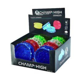 Drtič na tabák plastový Champ High 100mm, 4mix(506125)