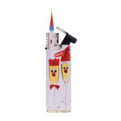 Zapalovač PROF Turbo Santa(804340)