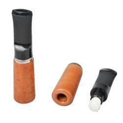 Cigaretová špička BPK s filtrem, světlá, 8cm(52-018)