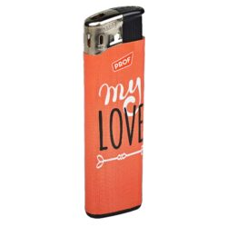 Zapalovač PROF Piezo Love Words(804509)