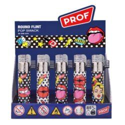 Zapalovač PROF Flint Round Popsmack(009570)