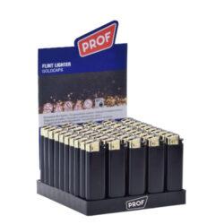 Zapalovač PROF Flint Goldcaps-Plynový kamínkový zapalovač. Zapalovač není plnitelný. Prodej pouze po celém balení (displej) 50 ks. Výška zapalovače 8cm.