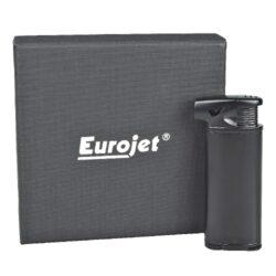 Dýmkový zapalovač Eurojet Burg, černý(257230)