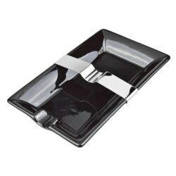 Doutníkový popelník keramický 1D, černý(513292)