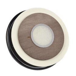 Dóza na tabák keramická černohnědá(522002)