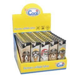 Zapalovač Cool Piezo Crazy Guy-Plynový zapalovač Cool Piezo Crazy Guy. Plnitelný zapalovač je vybavený nastavením intenzity plamene. Prodej pouze po celém balení (displej) 50 ks. Výška zapalovače 8 cm.