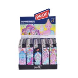 Zapalovač PROF Piezo Psyche Metal(804538)