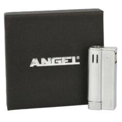 Benzínový zapalovač Angel Austria Silver(240170)