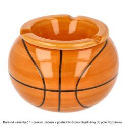 Cigaretový popelník keramický Sports, 3mix(27013)