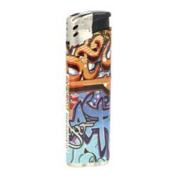 Zapalovač Cool Piezo Graffiti(017507)