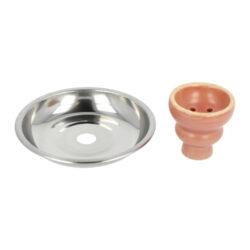 Vodní dýmka Round růžová 55cm(40095)