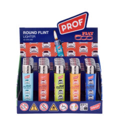 Zapalovač PROF Flint Round Fiat(009590)