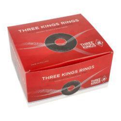 Uhlíky do vodní dýmky Three Kings Ring, rychlozápalné, 44mm(05164)