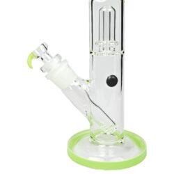 Skleněný bong s perkolací Grace Glass Box Green 46cm(AB03)