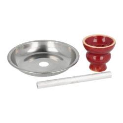 Vodní dýmka Round red 55cm(40094)