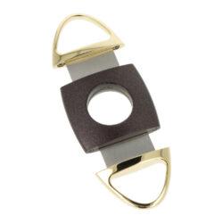 Doutníkový ořezávač Angelo černo-zlatý, 22mm(500500)
