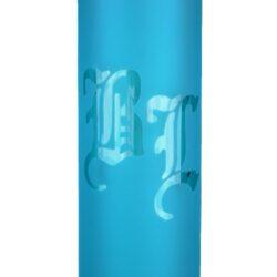 Skleněný bong Black Leaf Ice LED light Neon, 51cm, blue(251815-29)