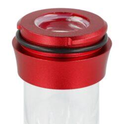 Vodní dýmka Aladin Alux M5 Red 47cm(476304)