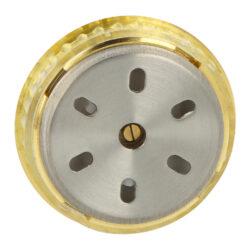 Vlhkoměr kulatý zlatý, 37mm(596048)