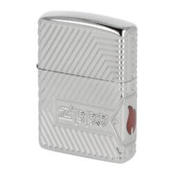 Zapalovač Zippo 167 Zippo Bolts Design, leštěný(Z 220489)