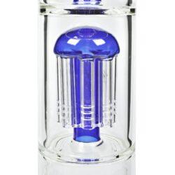 Skleněný bong s perkolací Blaze Glass Ice Tower, 56cm, blue(281822-29)