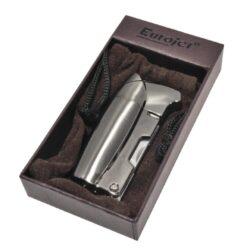 Dýmkový zapalovač Eurojet Sky Pipe šedý(25707)