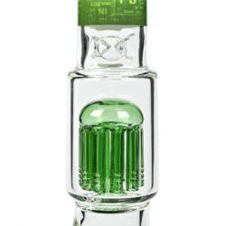 Skleněný bong s perkolací Black Leaf Tree Flask, 44cm(2618100)