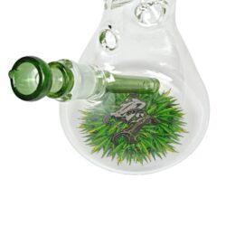 Skleněný bong Black Leaf Ice Flask, 40cm(2618116)