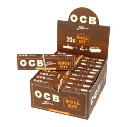 Cigaretové papírky OCB VIRGIN Slim + Filters + Rolling tray-Cigaretové papírky OCB VIRGIN Slim + Filters + Rolling tray. Vše v jednom - klasické balení papírků s filtry obsahuje navíc skládací balící prostor - kapsu pro pohodlnější ubalení cigarety. Pomalu hořící papírky jsou vyrobené z ultratenkého neběleného papíru. Knížečka obsahuje 32 papírků + 32 ppapírových filtrů. Rozměry papírku: 44x109mm. Prodej pouze po celém balení (displej) 20ks. Cena je uvedená za 1ks.