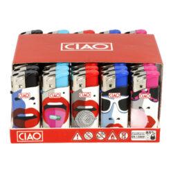 Zapalovač CIAO Piezo Mini Lips(CCRM087)