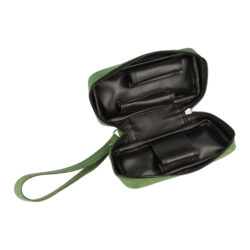 Pouzdro na 2 dýmky etue koženka, zelené(632016)