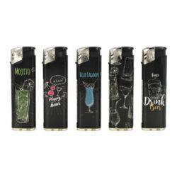 Zapalovač Cool Piezo Drinks(017503)