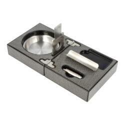 Doutníkový popelník Carbon Set, 1D(524303)