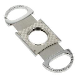 Doutníkový ořezávač Faro chrome, 25mm(02039)