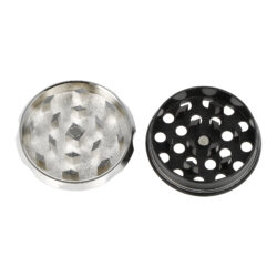 Drtič tabáku kovový Canabis, 44mm(07051)