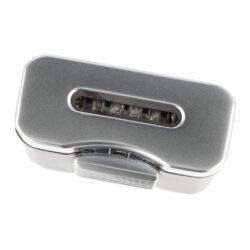 Doutníkový zapalovač Winjet Premium Flat Black/Silver(310026)