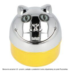 Cigaretový popelník kovový Colored Cats, 9cm(11007)