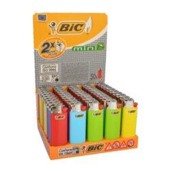 Zapalovač BIC J5 Mini-Plynový zapalovač. Výška zapalovače 6cm. Prodej pouze po celém balení (displej) 50 ks.